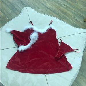 Christmas/Santa style lingerie